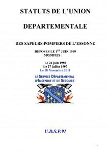STATUTS UDSP 91
