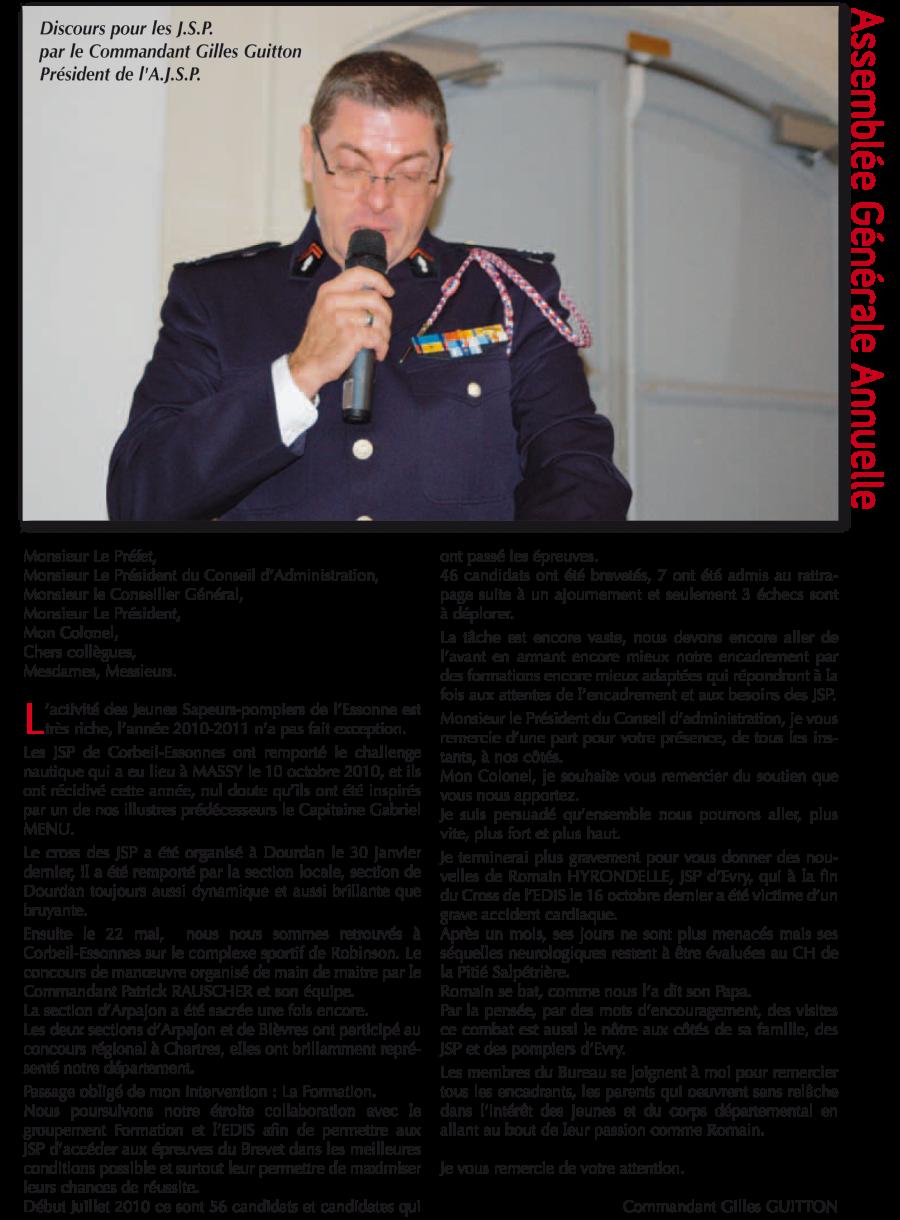La saison 2017-2018 a vu la mise en place terminale de la réforme de la formation des Jeunes Sapeurs-Pompiers (JSP). Révolution technique et pédagogique, elle vise à former des futurs […]