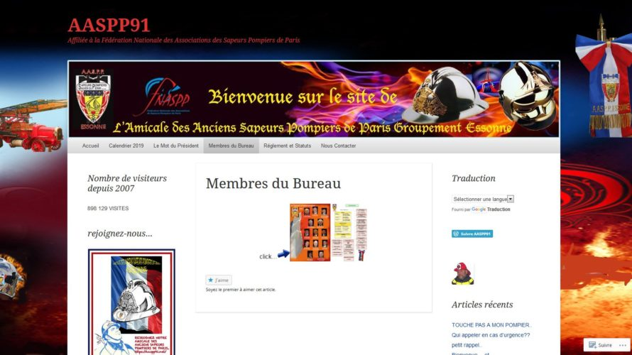 Ancien «de la brigade», l'association des anciens sapeurs-pompiers de Paris, section de l'Essonne t'attend ! n'hésites pas à prendre contact avec eux ! https://aaspp91.net/